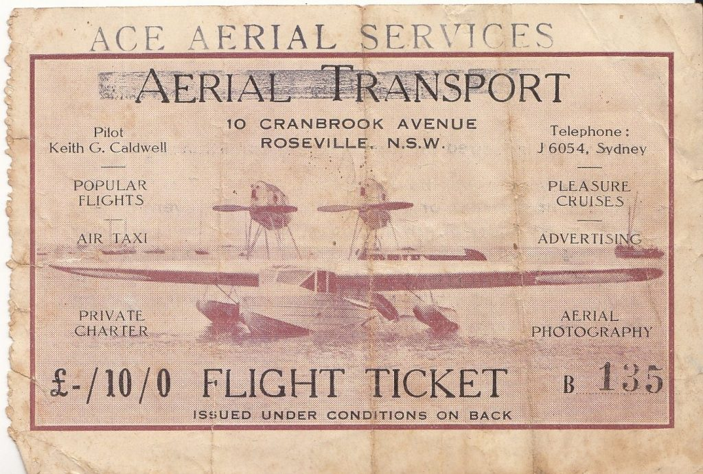 Joy-Flights for just 10 shillings - History Redcliffe
